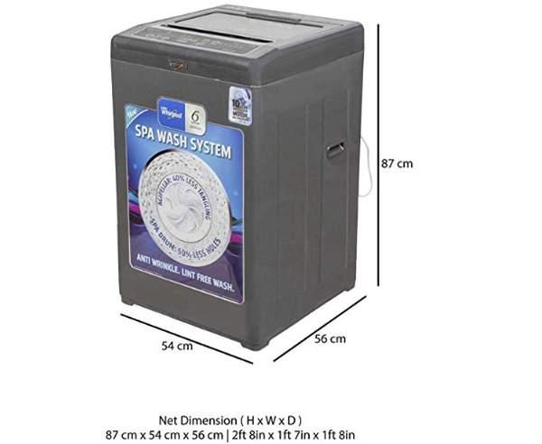 Best Washing Machine in India - Whirlpool White Magic Premier