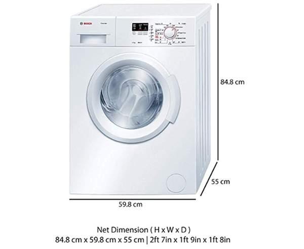 Best Washing Machines in India - Bosch WAB16060IN