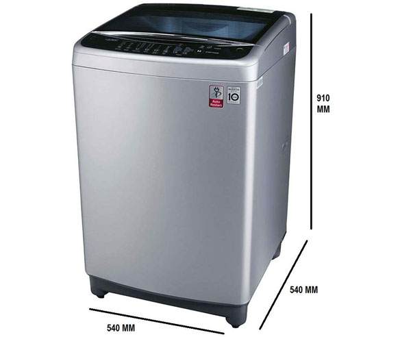 Best Top Loading Washing Machines in India - LG 8kg T9077NEDL1
