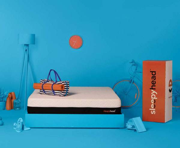 SleepyHead Sense - 3 zoned PCM Cooling Foam Orthopedic Mattress