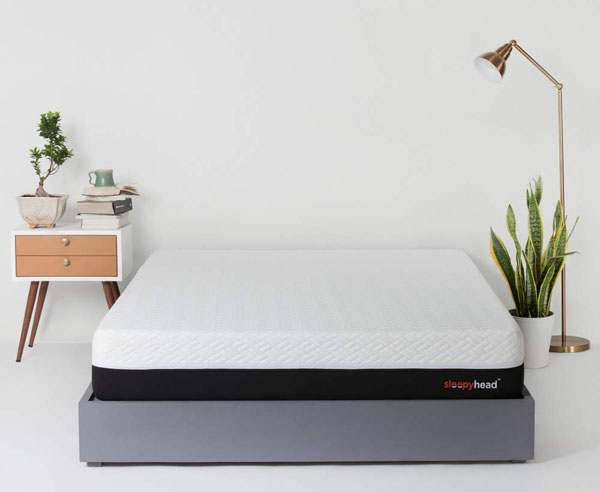 BEST MATTRESSES IN INDIA - SleepyHead Sense - 3 zoned PCM Cooling Foam Orthopedic Mattress