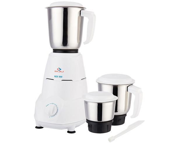 Best Mixer Grinder in India - Bajaj Rex 500-watt Mixer Grinder