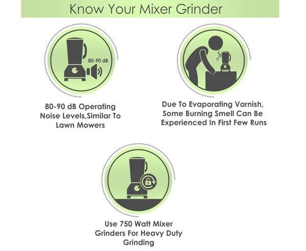 Bajaj Rex 500-watt Mixer Grinder