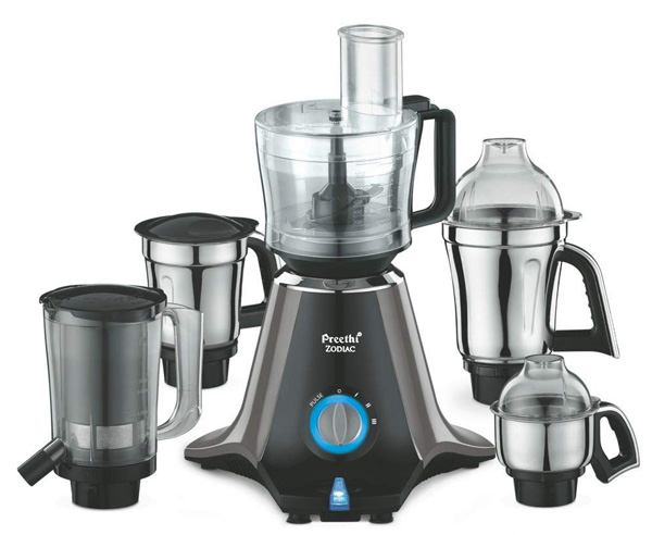 Best Mixer Grinder in India - Preethi Zodiac MG 218 750-watt Mixer Grinder