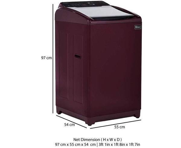 Best Top Loading Washing Machines in India - Whirlpool 7kg Whitemagic Elite