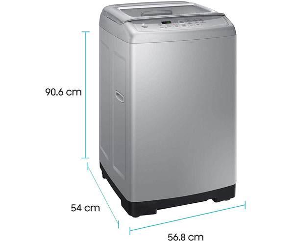 Best Top Loading Washing Machines in India - Samsung 6.2kg WA62M4100HY