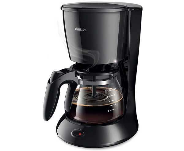 Best Coffee Machine in India  - Philips HD7431/20 700-Watt Coffee Maker (Black)