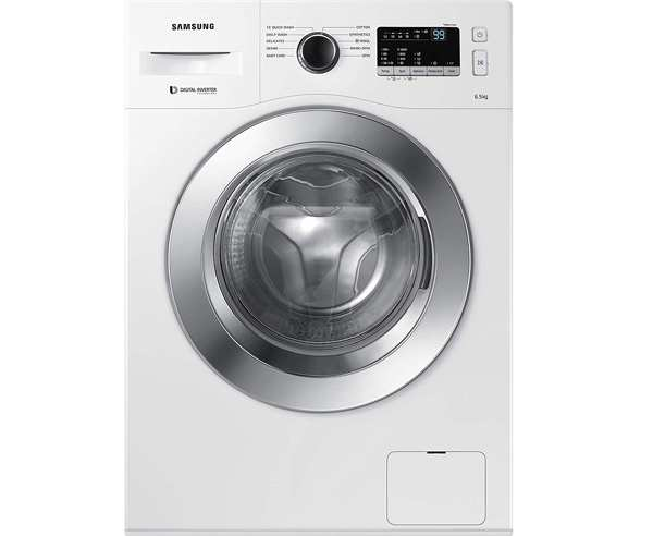 BEST FRONT LOAD WASHING MACHINES MACHINES IN INDIA - Samsung  WW65M206L0W/TL