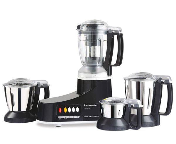 Best Mixer Grinder in India  - Panasonic MX-AC400 550-watt Mixer Grinder