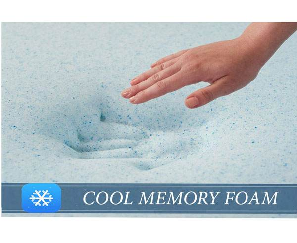 Dreamzee Orthocare Memory Foam Mattress