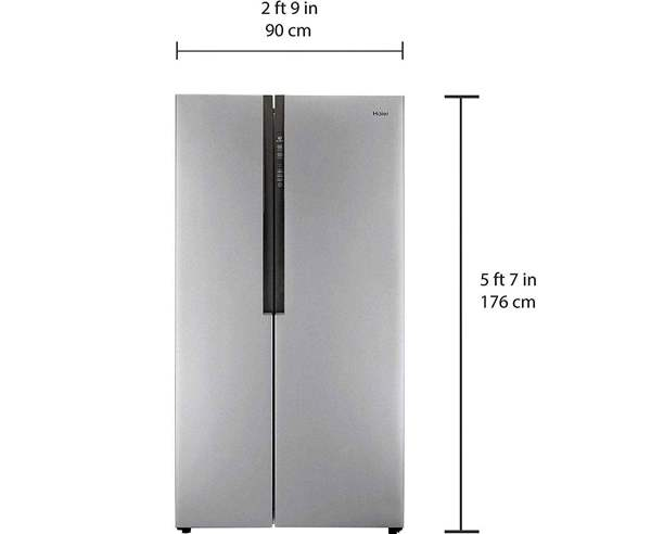 Best Refrigerators In India - Haier 618 SS