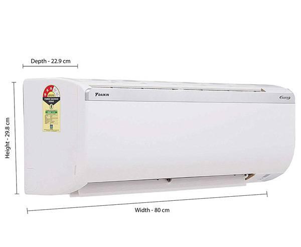 Best 1 Ton AC in India  - Daikin 1-Ton 3 Star Inverter Split AC - ATKL35TV