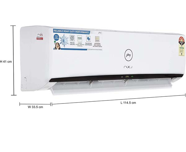 BEST INVERTER SPLIT AIR CONDITIONERS IN INDIA  - Godrej GIC 24 MGP5-WRA