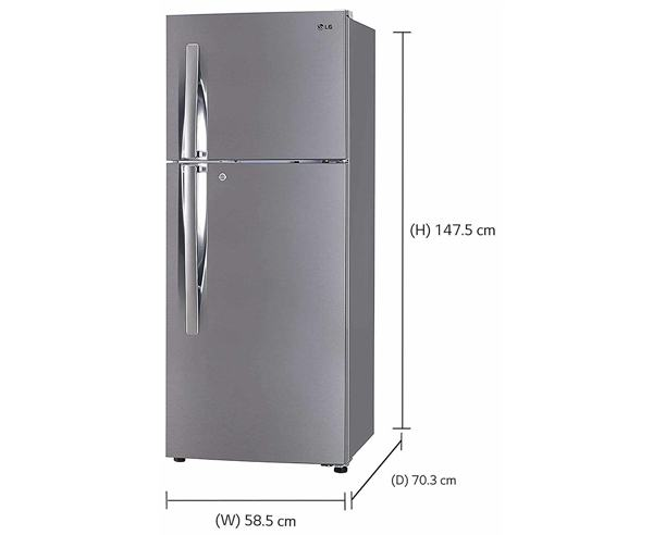 Best Refrigerators In India - LG GL-1292RPZL