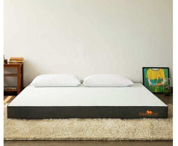 BEST MATTRESSES IN INDIA - SleepyCat Gel Memory Foam Mattress