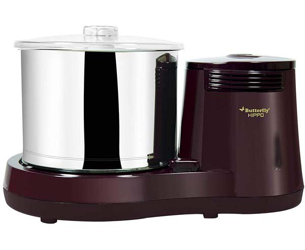 Best Wet Grinders in India  - Butterfly Rhino 2-Liter Table Top Wet Grinder(Cherry)