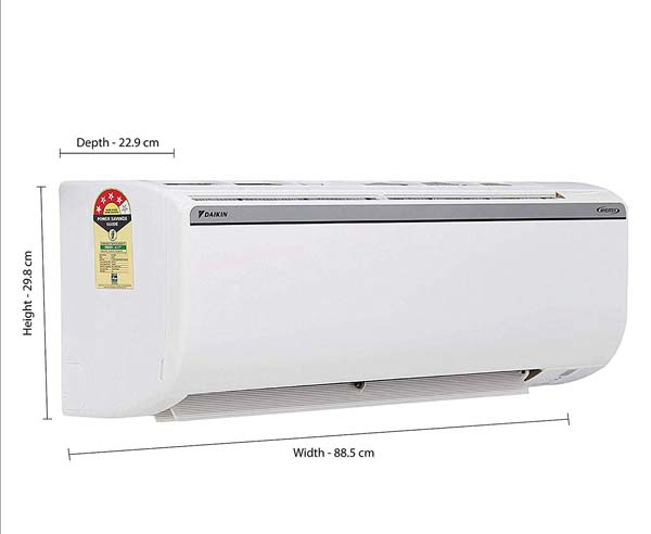 BEST INVERTER SPLIT AIR CONDITIONERS IN INDIA  - Daikin FTKP50TV