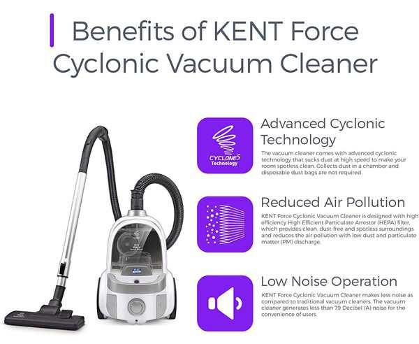 KENT Force Cyclonic