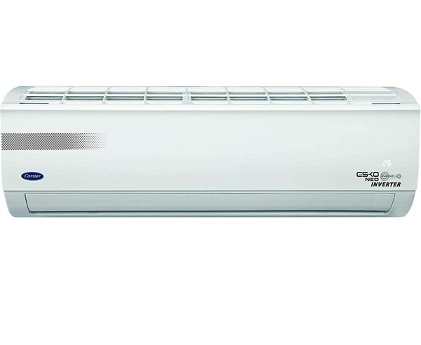 BEST INVERTER SPLIT AIR CONDITIONERS IN INDIA  - Carrier R32,CAI18EK5R39F0