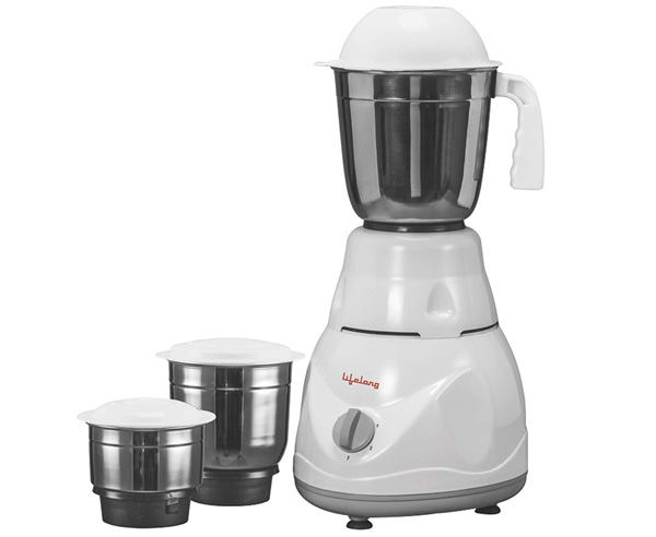 Best Mixer Grinder in India  - Lifelong Power Pro 500-watt Mixer Grinder