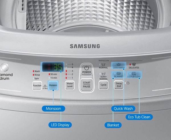 Samsung 6.2kg WA62M4100HY