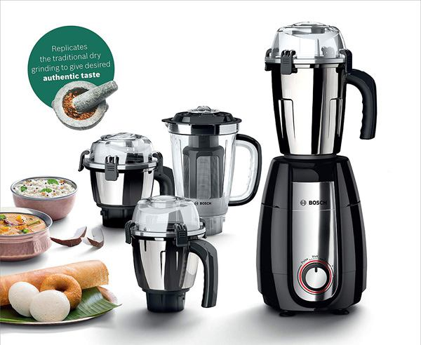 Best Mixer Grinder in India  - Bosch Truemixx Pro 1000-watt Mixer Grinder