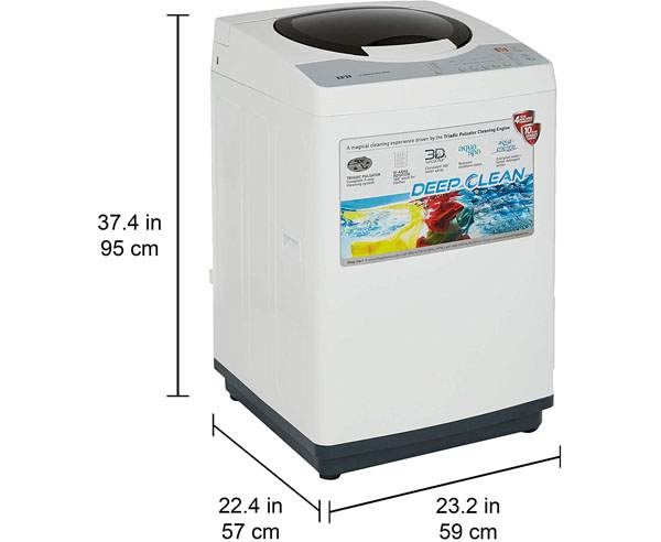Best Top Loading Washing Machines in India- IFB 6.5kg TL-RDW