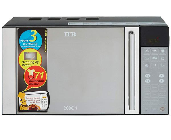 Best Microwave Oven in India  - IFB 20BC4 20L CONVECTION MICROWAVE OVEN