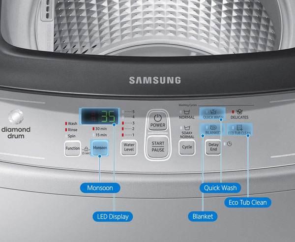 Samsung 6.5kg WA65M4100HV/TL
