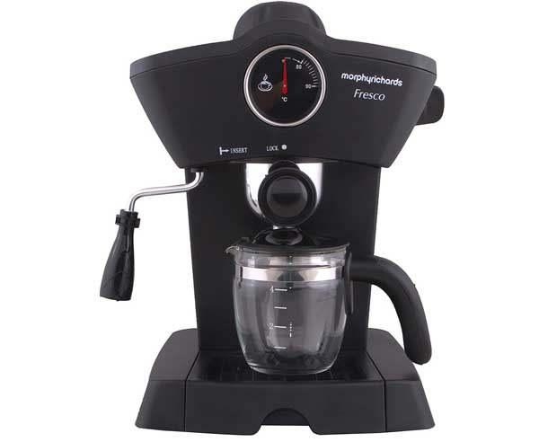 Best Coffee Machine in India  - Morphy Richards Fresco 800-Watt