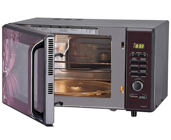 Best Microwave Oven in India  - LG 28L CONVECTION MICROWAVE OVEN (MC2886BRUM)