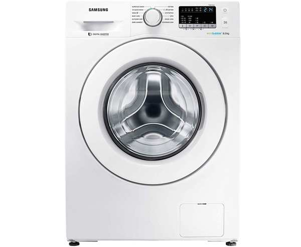 BEST FRONT LOAD WASHING MACHINES MACHINES IN INDIA - Samsung  WW80J4243MW/TL