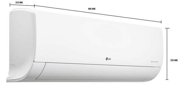 Best 2 Ton Split AC in India - LG LS-H24VNXD