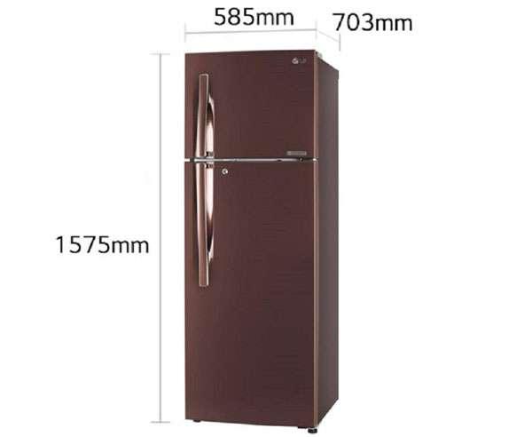 Best Double Door Refrigerators - LG 284