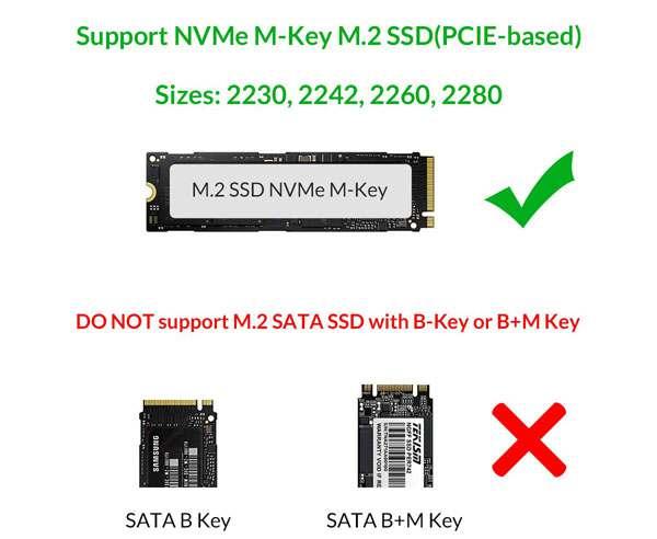 ORICO Mini M.2 NVME SSD