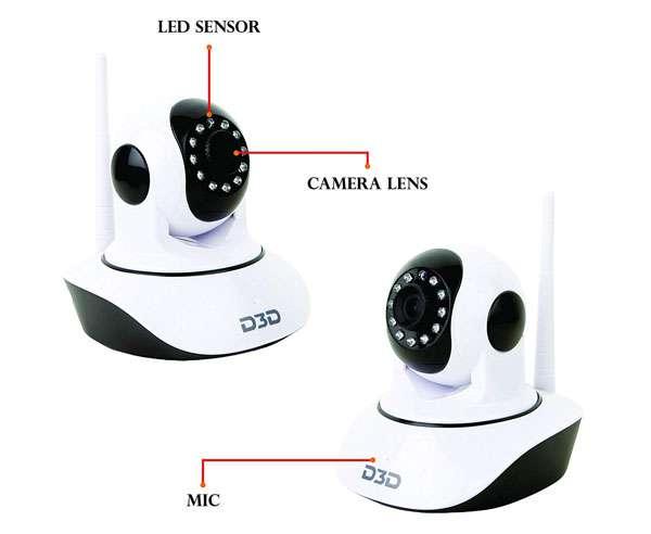 Best CCTV Camera - D3D D8810