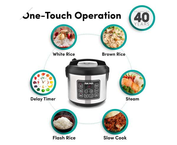 Aroma Housewares Arc-150sb