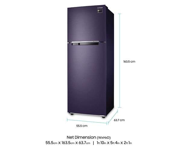 Best Double Door Refrigerators - Samsung 275