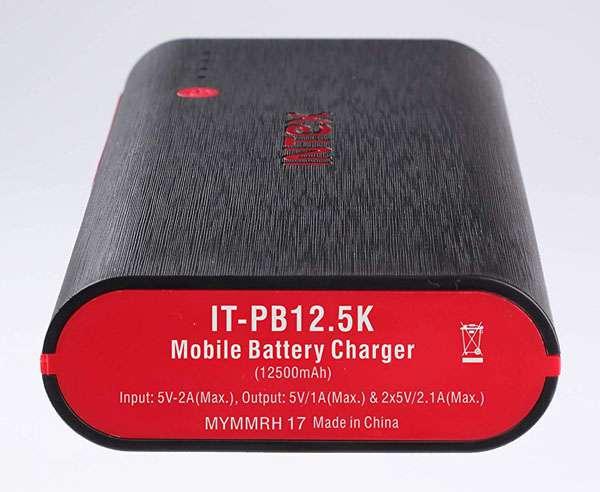 Best Power Bank in India - Intex IT-PB12.5K
