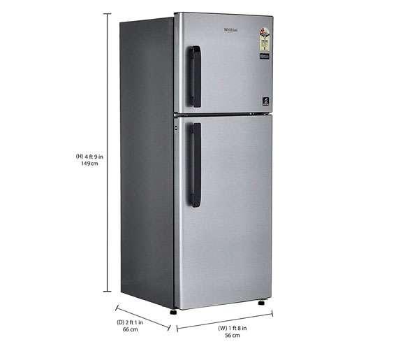 Best Double Door Refrigerators - Whirlpool 245L