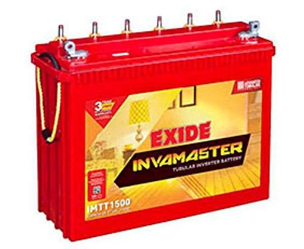 Exide IMTT1500 - best inverter battery