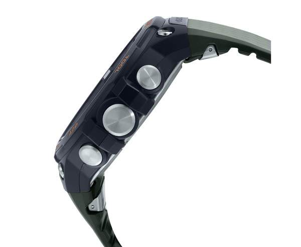 Best Smartwatches in India  - Casio WSD-F20A-GNBAD-IN (SW005)