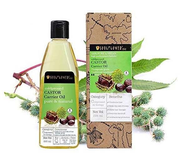 Best Hair Growth Oil - Soulflower Castor