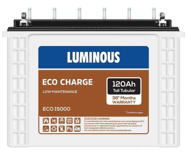 Luminous EC15000 - best inverter battery