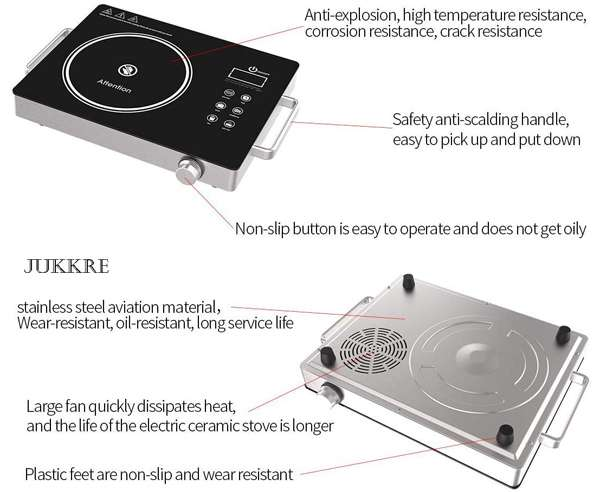 Best Induction Cooktop - Jukkre Electric Ceramic