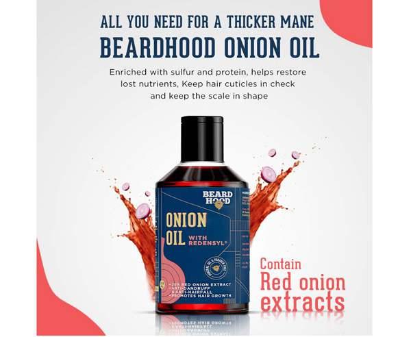 Best Hair Growth Oil - BeardHood Onion