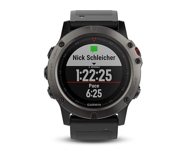 Best Smartwatches in India  - Garmin Fenix 5X Sapphire Multisport
