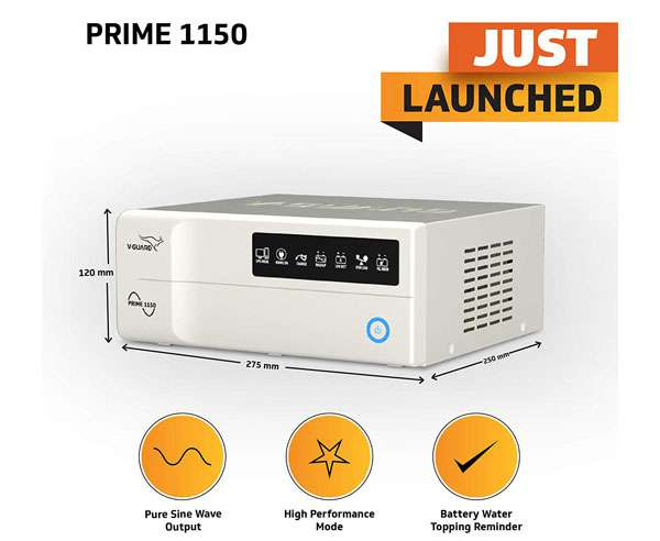 Best inverters in India  - V-Guard Prime