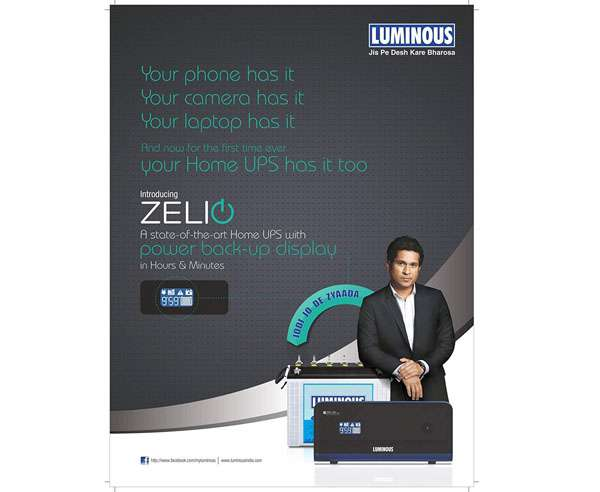 Luminous Zelio+ 1100 Home