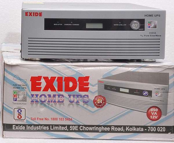 Best inverters in India  - Exide 850VA Pure Sine Wave
